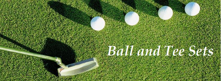 Golf ball sets