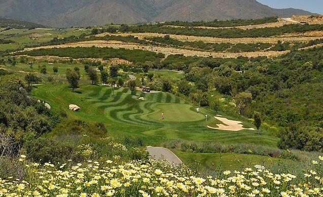 Stunning views of Finca Cortesin