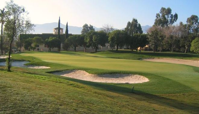 The Guadalhorce course with club house