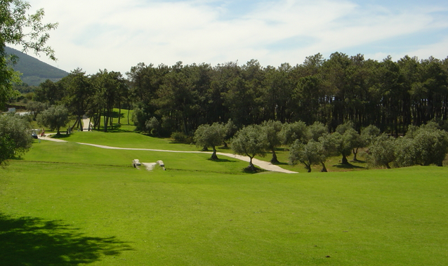 One of the fairways at Lauro Golf