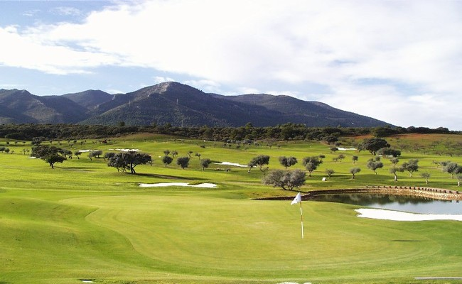 Lauro Golf Green 27th