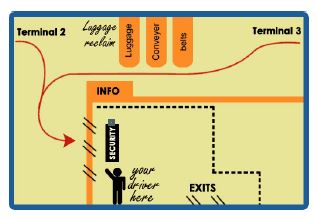 Meeting Map Malaga Airport Transfers