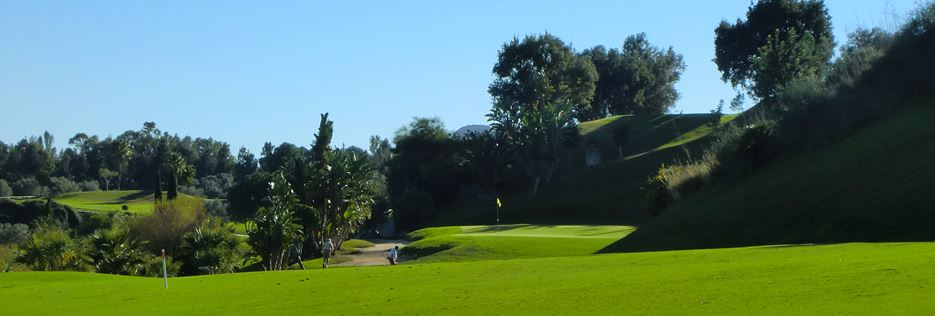 Santa Clara 16th Golf Hole Marbella