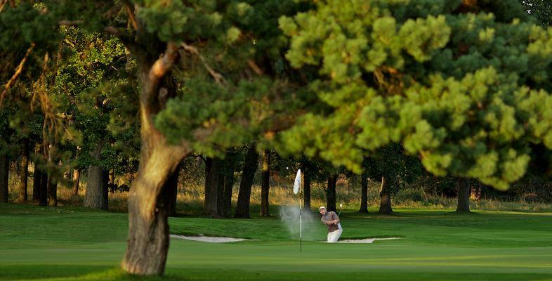 Valderrama Golf bunker shot
