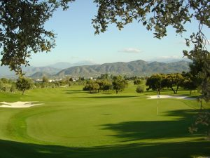 One of the greens at Lauro Golf