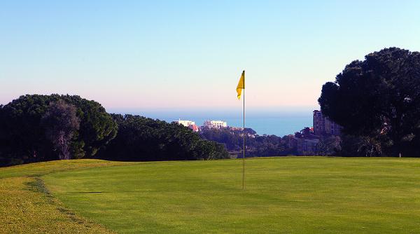Torrequebrada golf spectacular views