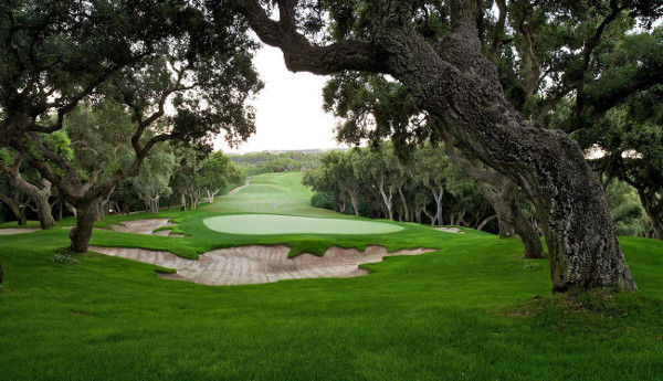 Valderrama Golf green and fairway