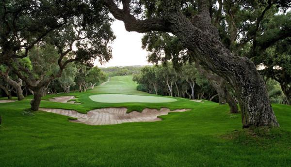 Valderrama Golf green and fairway