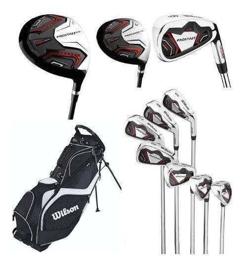 Wilson Pro Staff Golf Clubs