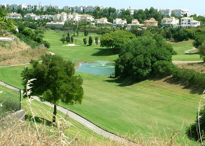 Views to the Miraflores golf course