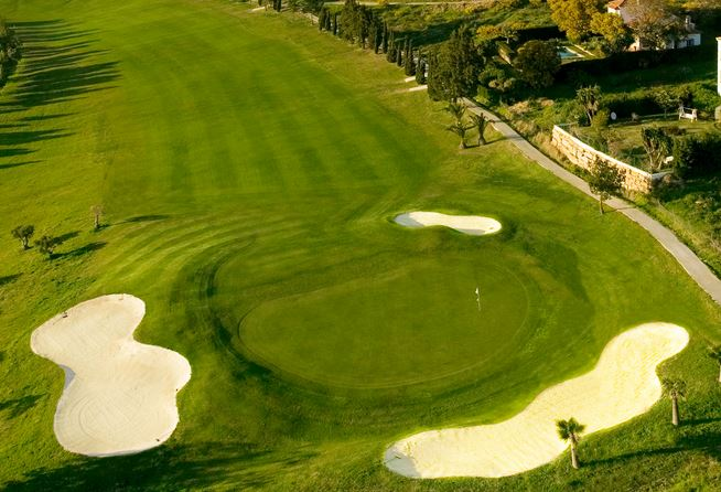 One of the holes at Estepona Golf