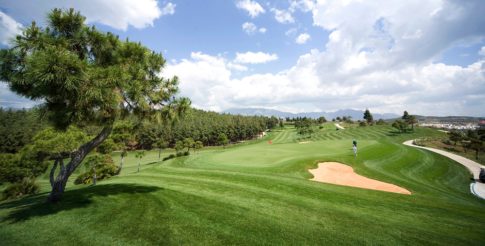 The lovely El Chaparral Golf course in Spain