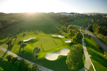 Estepona Golf from above