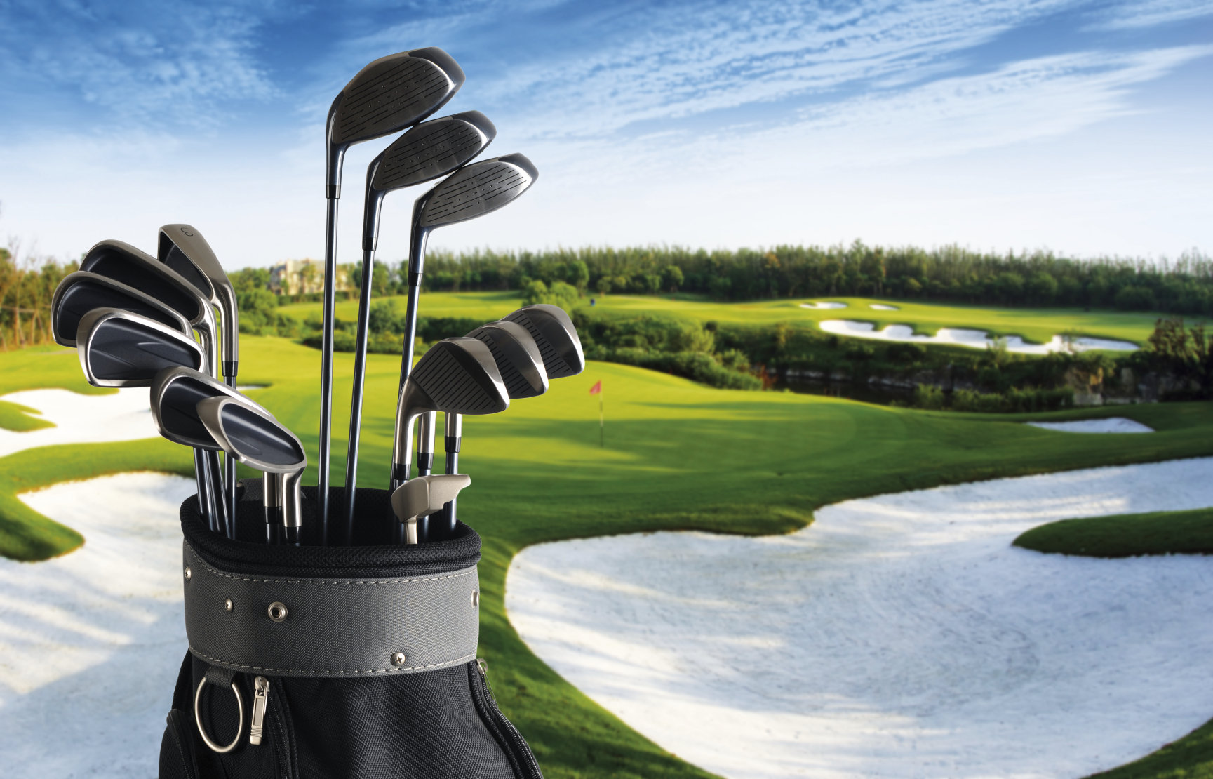 Golf clubs for hire and Spanish golf course