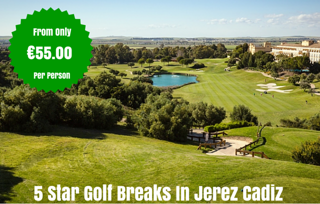 Cadiz golf breaks image