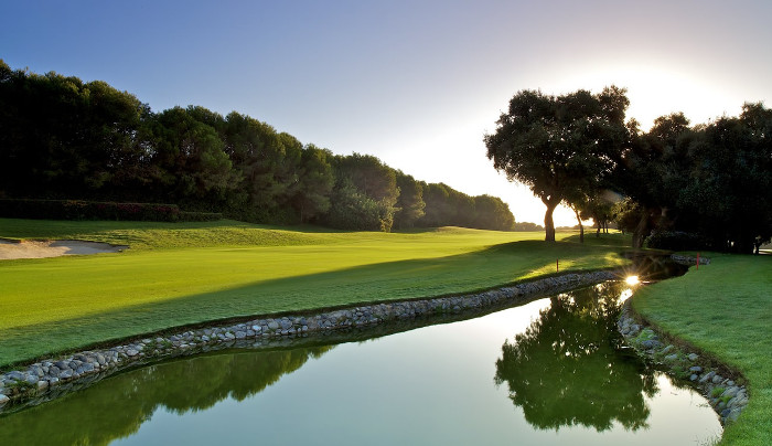 Valderrama golf course fairway
