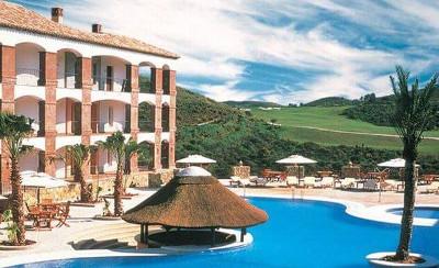 La Cala Hotel pool overlooking golf course