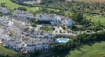 Aerial view of Lauro Golf course