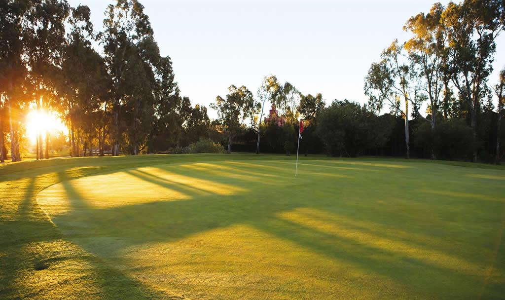 Atalaya New Golf Course Green
