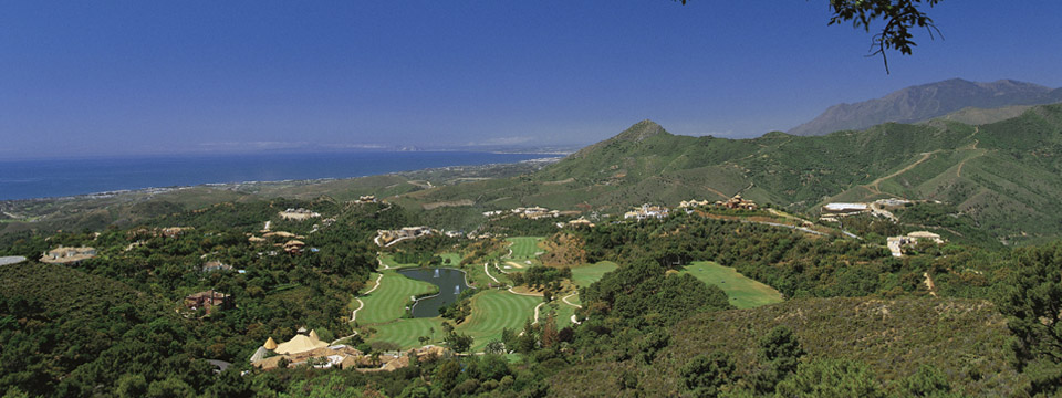 Monte Mayor golf from above