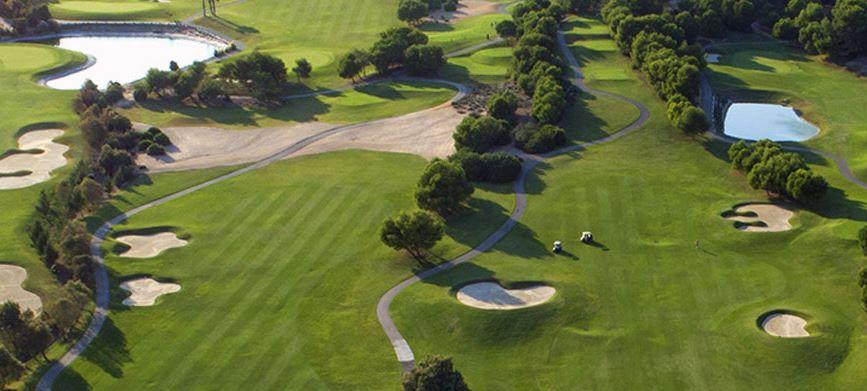 Lo Romero Golf Alicante from above