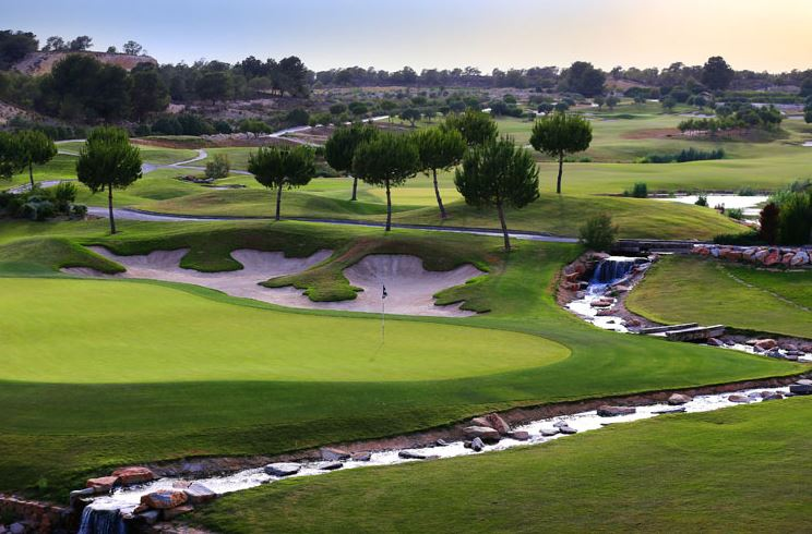 The Las Colinas golf course