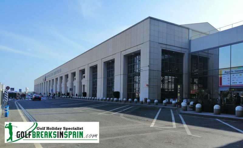 Malaga Airport Old Arrivals Meets New Arrivals