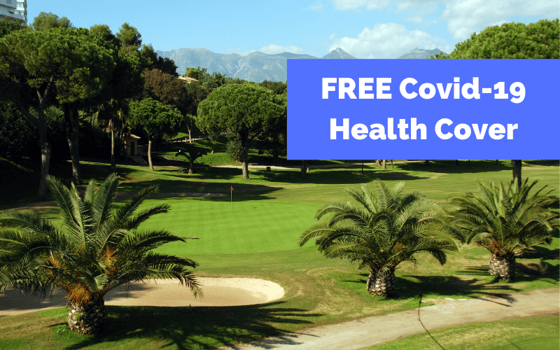 Free COVID-19 health cover blog image